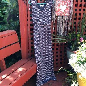 Ann Taylor Loft lovely maxi dress - small